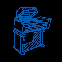 Shrink machine chamber type series EKN-455