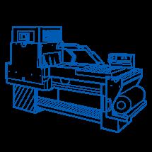 Shrink machine tunnel type series EKL-455