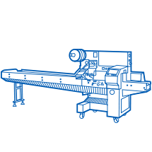 "Horizontal packing machines ""Flow-pack"""