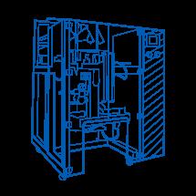 Packing machines of series ARU